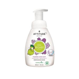 Attitude Dětské pěnivé mýdlo na ruce Little leaves s vůní vanilky a hrušky  295 ml
