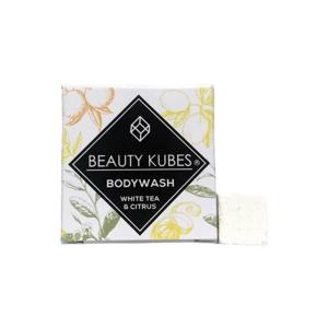 BEAUTY KUBES Tuhé mýdlo bílý čaj a citrus 100 g