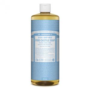Dr. Bronner's Tekuté universální mýdlo ALL-ONE!, Baby-Mild 945 ml