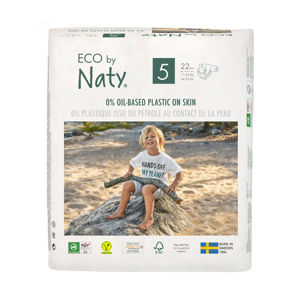 Eco by Naty Plenky Junior 11 - 25 kg  22 ks