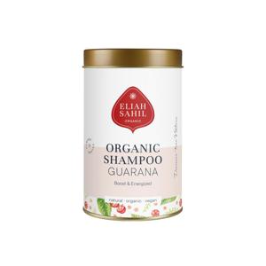 Eliah Sahil Ájurvédský práškový šampon Citrus-Guarana, Bio 100 g