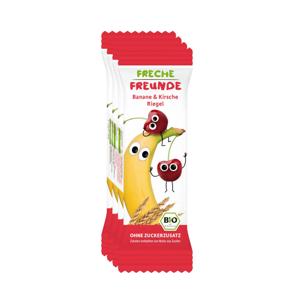 Freche Freunde BIO Ovocná tyčinka banán a třešeň 4 x 23g