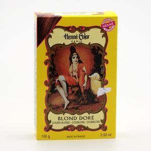 Henné Color Henna Zlatá blond 100 g