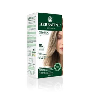 HERBATINT Permanentní barva na vlasy světle popelavá blond 8C 150 ml