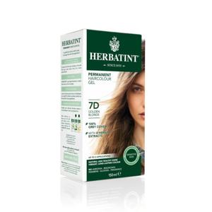 HERBATINT Permanentní barva na vlasy zlatavá blond 7D 150 ml