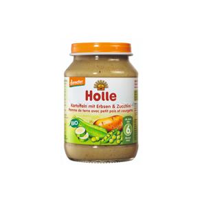Holle Bio Dětská přesnídávka brambor, hrášek a cuketa 190 g