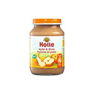 Holle Bio Dětská přesnídávka jablko a hrušky 190 g