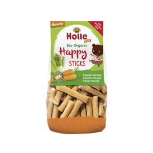 Holle Dětské happy tyčinky mrkev - fenykl 100 g