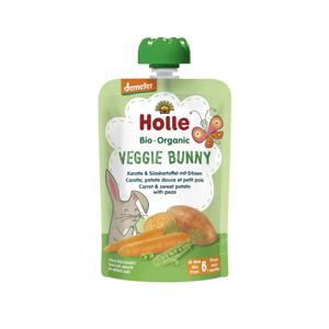Holle Veggie Bunny Bio pyré mrkev, batáty a hrášek 100 g