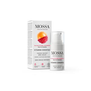 MOSSA Energizující intenzivní oční krém, Vitamínový koktejl 15 ml