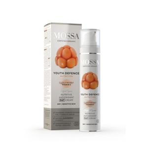 Mossa Výživný denní krém s antioxidanty, Youth Defence 50 ml