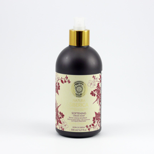 Natura Siberica Krémové mýdlo Zjemňující 500 ml