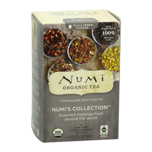 Numi Organic Tea Sada čajů Numi´s Collection 40,2 g, 18 ks