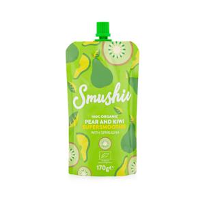 Salvest Smushie BIO Ovocné smoothie s hruškou, kiwi a spirulinou 170 g