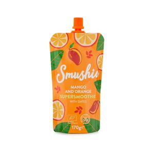 Salvest Smushie BIO Ovocné smoothie s mangem, pomerančem a datlemi 170 g