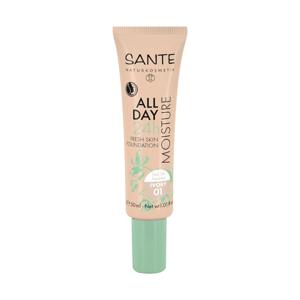 SANTE Hydratační 24h make-up 01, slonovina 30 ml