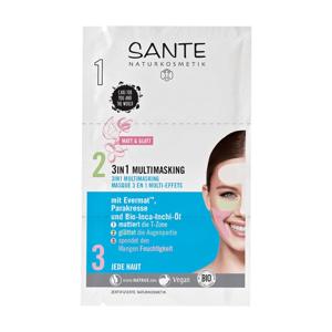 SANTE Pleťová maska Multiaktiv 3v1 2 x 4 ml