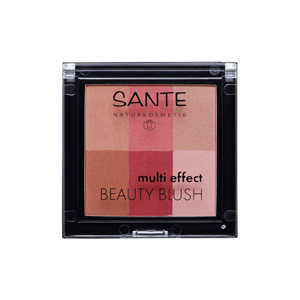 SANTE Tvářenka Multi Effect Beauty 02, brusinková 8 g