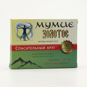 TML Zlaté mumio čisté 30 ks, (tablet)