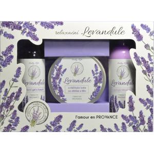 Vivaco Body Tip Dárková kazeta kosmetiky s levandulovým olejem BT Premium