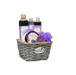 Vivaco Dárkové balení kosmetiky Hrozno BODY TIP