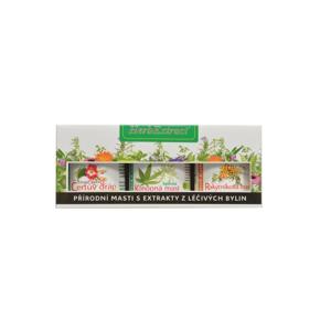 Vivaco Herb extrakt Dárková kazeta bylinných mastí HERB EXTRACT