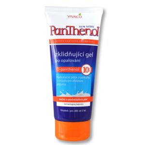 Vivaco Zklidňující gel po opalování s D- panthenolem 10% SUN VITAL 200 ml