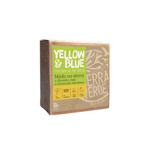 Yellow and Blue Olivové mýdlo s citronovým extraktem na skvrny 200 g