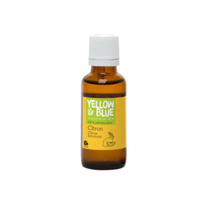 Yellow and Blue Silice citron, bio 30 ml